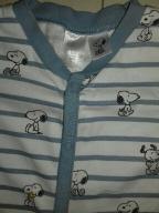 H&M pajacyk śpiochy piżamka rozm. 92, Snoopy
