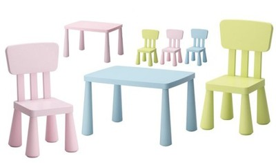 Ikea Mammut Stolik 2 Krzesełka Mamut Hit 24h 6927313552