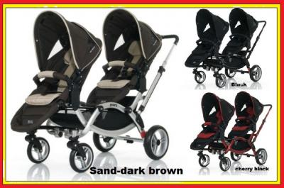 Podwójny wózek ZOOM wózki ABC DESIGN 2012