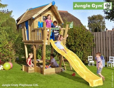 Domek Crazy Playhouse Xl Jungle Gym Active Garden