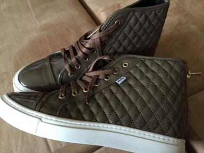 super buty trampki nowe TK maxx 40 brązowe 5095357301