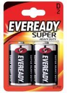 Bateria EVEREADY SUPER HEAVY DUTY D R20 /2szt.