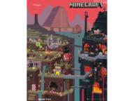 MineCraft Świat World - plakat 40x50 cm