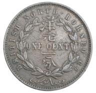 Borneo Kolonia Brytyjska 1 Cent 1888 st. 3
