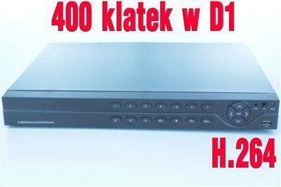 Full D1 monitoring 16 KAMER rejestrator HDMI VIDEO