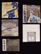 Pokemon Silver + Box Oryginał Anglik
