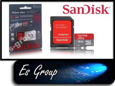 class10 Sandisk 16GB Mobile Ultra microSDHC 30MB/s