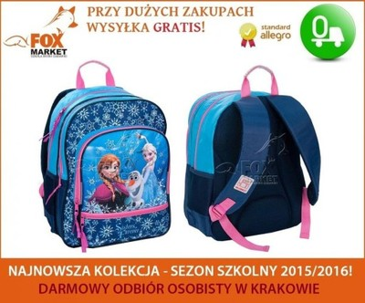 eaa7b50a00462 Plecak szkolny KRAINA LODU Frozen Elsa DFU-180 - 5650430964 ...