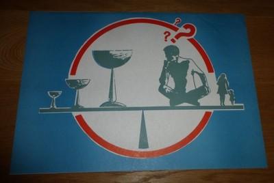 Plakat Antyalkoholowy Rodzina Czy Alkohol