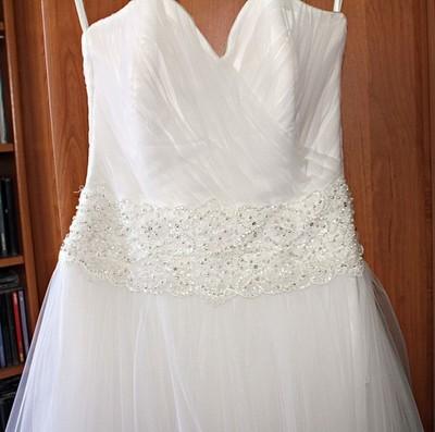 b1c490c545 Suknia ślubna Agnes 10750 i gratisy - 6892336747 - oficjalne ...