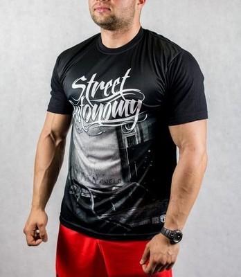 T-Shirt STREET AUTONOMY WALL RPK ZDR Black r.M
