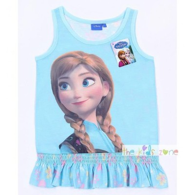 Niebieska bluzeczka KRAINA LODU PRIMARK 6-7 lat
