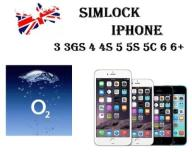 SIMLOCK IPHONE O2 UK 3/4/5/5C/5S/6/6S/7/7+/SE