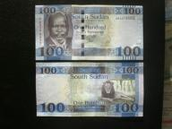 SUDAN POŁUDNIOWY - 100 FUNTÓW 2015,UNC