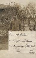 Augustów żołnierz niemiecki 1915