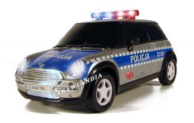 Policja Samochód Mini Morris Zabawka Dickie 4297780434 Oficjalne