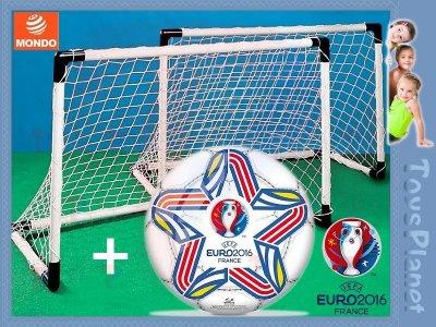 UEFA EURO 2016 Zestaw 2 BRAMKI + PIŁKA Bramka NEW