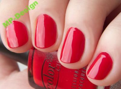 LAKIER COLOR CLUB- REDDY OR NOT klasyczna czerwień