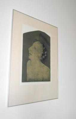 Ewa Walawska CZŁOWIEK POMPEJAŃSKI, 1994, akwaforta