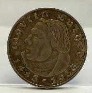 2 MARKI MARCIN LUTER III RZESZA 1933