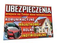UBEZPIECZENIE BANER GOTOWY PROJEKT 2x1m szyld pcv