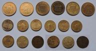 Nepal 15 monet zestaw, Everest pagoda rupie paisa