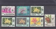 Kwiaty. 1964. Malaya Sabah. Kasow