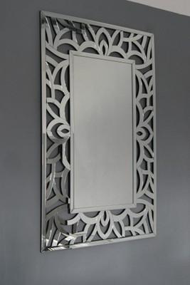 Duże Nowoczesne Lustro Dekoracyjne 150x96 Nowość