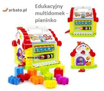 Zabawki Edukacyjne Domek Prezent Na Roczek Kraków 5798570103
