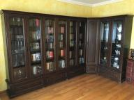 Biblioteka narożna - Komoda- Lite drewno - Gabinet