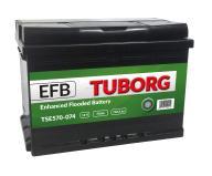 AKUMULATOR TUBORG STARTSTOP EFB 70AH/ 740A P+