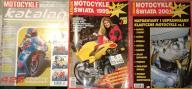 MOTOCYKLE SWIATA 1999 / 2000 / 2001 3 katalogi