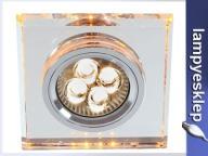 Oczko SS-22 bursztynowe 2235226 LED CANDELLUX