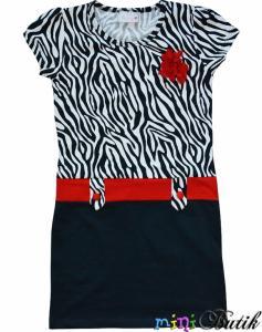 Sukienka BARMY zebra 134