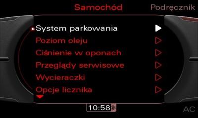 Polskie Menu Audi Komputer Lektor A4 B8 A5 Q5 Q7 5132811623