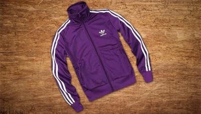 Fioletowa bluza damska Adidas
