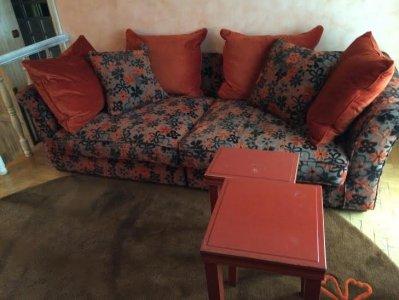 Sofa 3 Osobowa Pufa Dywany Wełniane Komfort