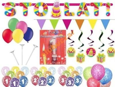 bf5350354b0bd9 zestaw ZWIERZAKI na urodziny 1 2 3 4 5 6 7 8 9 10 - 5175543349 ...