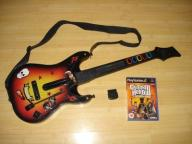 Gitara Guitar Hero PlayStation 2 PS2 rock band ps3