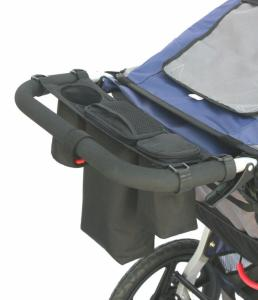 Organizer do wózka z kieszenią termiczną