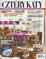 CZTERY KĄTY nr 9/17 + katalog BLACK RED WHITE