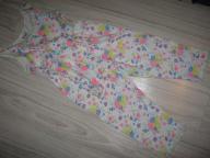 F&F piżamka jak nowa kwiatuszki 7-8lat