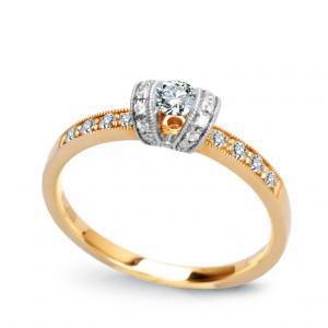 Piękny Zaręczynowy Wzór Tiffany Q22004 Infinity 3268111655