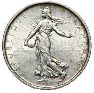 Francja - moneta - 5 Franków 1963 - 2 - SREBRO
