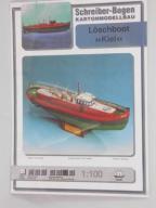 Model kartonowy do sklejenia Statek Okręt Kiel