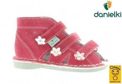 Kapcie DANIELKI buty profilaktyczne s124 mal, 21