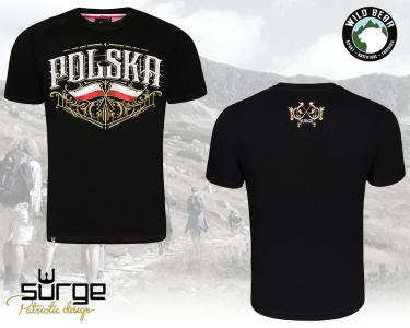 fb32fc9d7 Surge Polonia koszulka patriotyczna Polska roz 4XL - 5743219211 ...