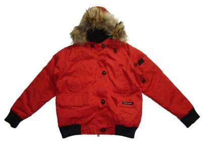 canada goose płaszcz puchowe czerwone
