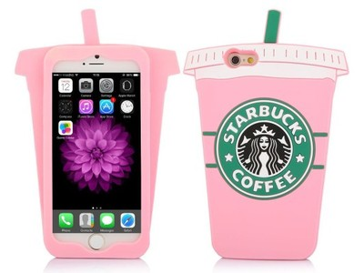 Etui Case Silikon Iphone 5 5s Se Kubek Starbucks 6961386911 Oficjalne Archiwum Allegro