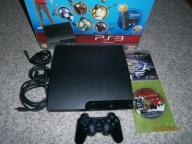 Playstation3 slim 320GB dualshock 2gry hdmi